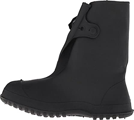 46d8fa4ed3588 Amazon.com  Tingley Rubber 35141 Work Brutes PVC 10-Inch Overshoe with  Button
