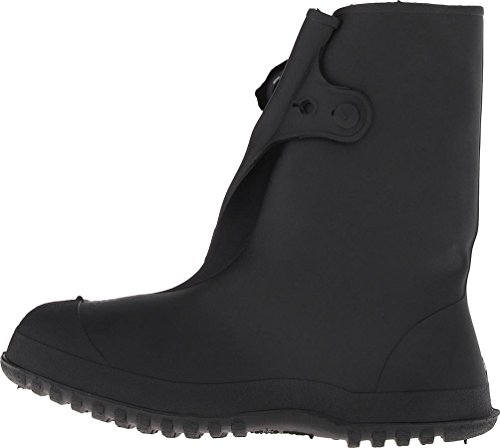 Tingley Rubber 35141 Work Brutes PVC 10-Inch Overshoe with Button, XX-Large, (Tingley Pvc Knee Boot)