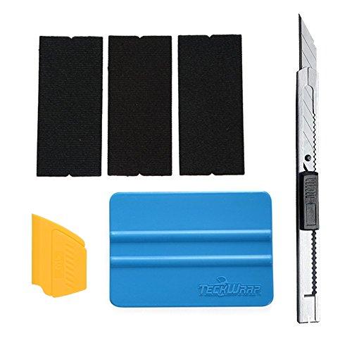 7MO Detailer Vinyl Car Wrap Vinyl Film Install Tool Kit 1 Set (with Knife) 1 Vinyl Decal Car