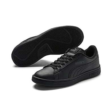 PUMA Kids Smash V2 L PS Sneaker, Puma Black-puma Black, 1 US