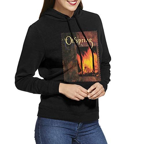 CHUNT The Offspring Ignition Women's Hooded Sweatshirt Black L -
