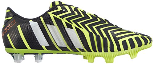 adidas Predator Instinct Firm Ground, Scarpe da Calcio da Uomo Giallo (Light Flash Yellow S15/Ftwr White/Dark Grey)