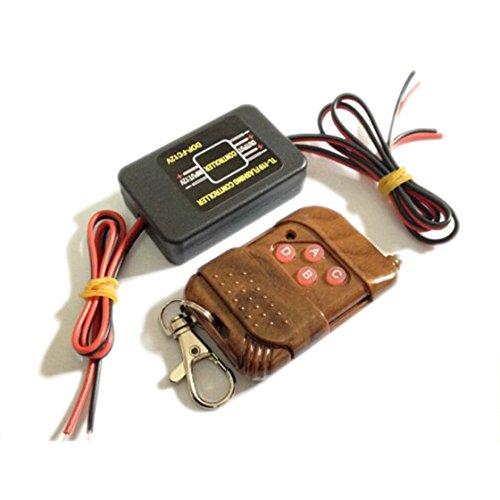 TOOGOO(R) Car Flash Strobe Decorative Light Bulbs Lamp Wireless Remote Control Controller