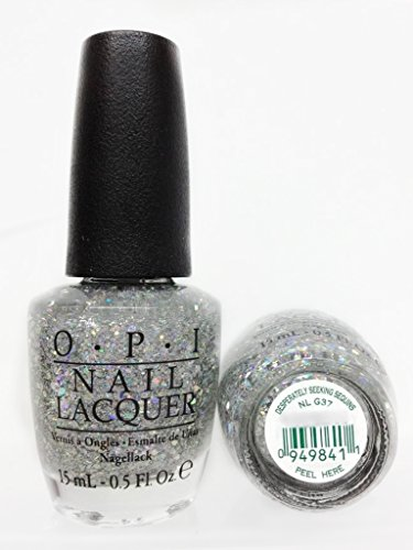 OPI Nail Lacquer, Spotlight on Glitter Desperately Seeking Sequins, 0.5 Ounce