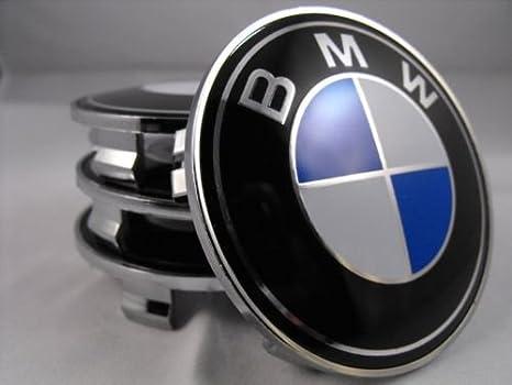 BMW d.o.l ® Azul Blanco 68 mm Buje Tapa & Llanta Tapa & Buje tapas Emblemas