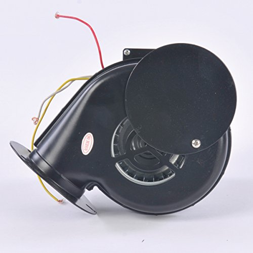 60 CFM Round Poly Inflation Blower with Damper - Electric Motor Blower