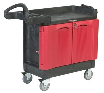 SEPTLS640451288BLA - Rubbermaid TradeMaster Mobile Cabinets and Work Centers - 4512-88-BLA