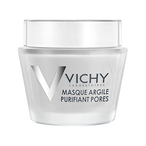 Vichy Pore Purifying Clay Face Mask with Aloe Vera, 2.54 Fl. - Mineral Clay Mask