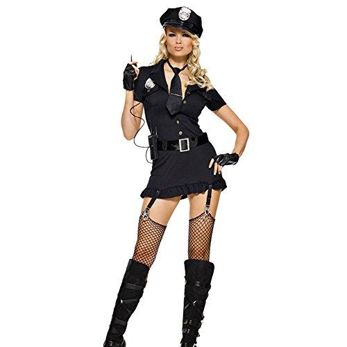 Amurleopard コスチューム 仮装 コスプレ 衣装 レディース 警察 ポリス