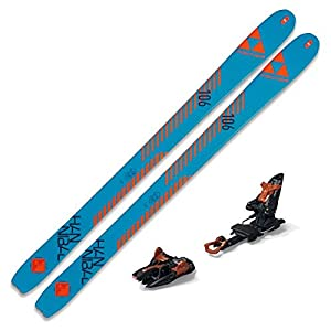 2021 Fischer Hannibal 106 Carbon Skis w/Marker Kingpin 13 Bindings