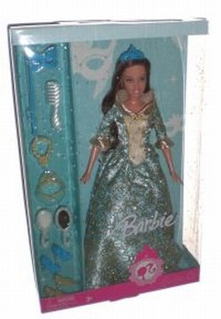 Barbie Renaissance Princess Doll Blue, Baby & Kids Zone