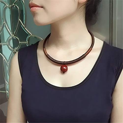 Quality Hollow Carved Silver Flatfish Chinese Style Charming Original Chokers, Necklaces | Fashionable Ethnic Jewelry
