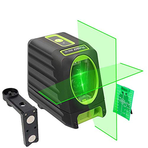 (Self-leveling Laser Level - Huepar Box-1G 150ft/45m Outdoor Green Cross Line Laser Level with Vertical Beam Spread Covers of 150°, Selectable Laser Lines, 360° Magnetic Base and Battery Included)