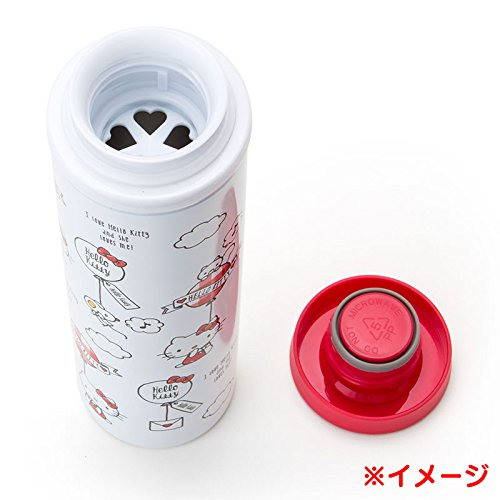 Sanrio Sanrio Characters stainless steel mug bottle L wrapping paper 460ml From Japan New by SANRIO (Image #2)