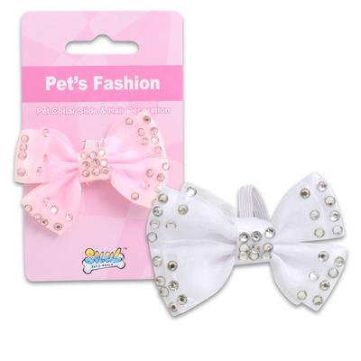 on 3In Bow Tie with Gems - Asst (36-Pack) Dog Accessories Wholesale Bulk Pets Dog Accessories ()