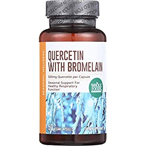 Whole Foods Market, Quercetin with Bromelain, 50 ct