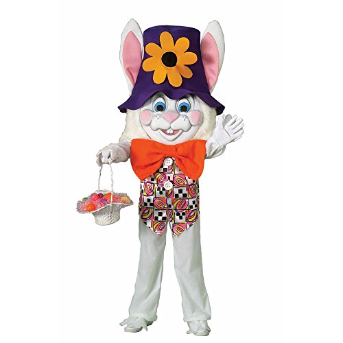 Easter Bunny Parade (Forum Parade Pleasers Oversized Bunny Costume, White,)