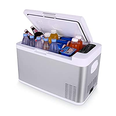 Costway 54 Quart Portable Refrigerator/Freezer Compact