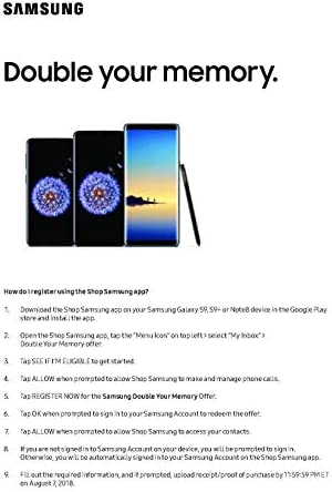 Samsung Galaxy S9, 64GB, Midnight Black - Fully Unlocked (Renewed)
