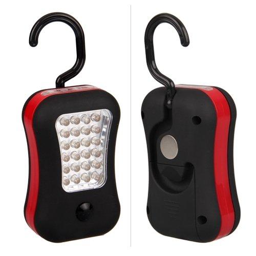Luz de Trabajo 28 LED para coche Linterna con Gancho y iman CARCHET