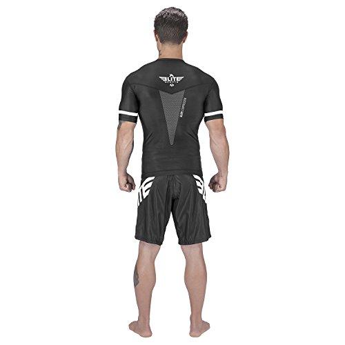 Elite Sports NEW ITEM Star Short Sleeve Compression, MMA, BJJ, No-Gi, Cross Training Rash Guard