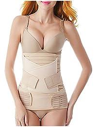 288d3de30bb 3 in 1 Postpartum Belly Wrap Postpartum Girdle Belt Support Recovery Corset Shapewear  Belly Waist