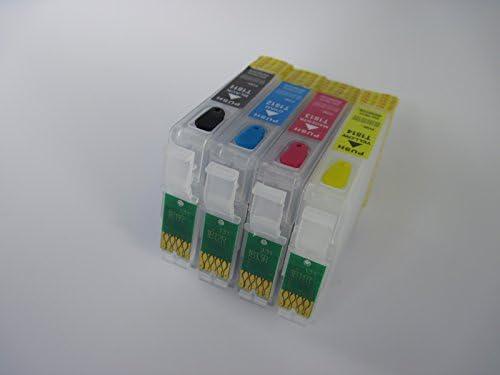 4 ALTA CALIDAD vacío Recambio recargables cartuchos de tinta ...