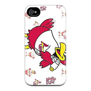 Iphone 6 LGM1102LrmE Provide Private Custom Realistic St. Louis Cardinals Pattern Best Cell-phone Hard Covers -cases-best-covers