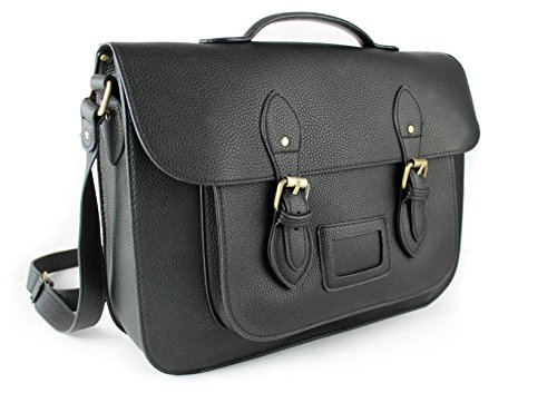Size Black Women 37x28x10cm Satchel Style Shoulder School Medium Handbgas Vintage For Bag Bag vq68T7