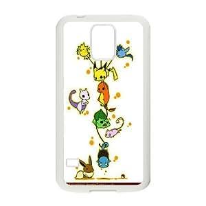 FOR Samsung Galaxy S5 -(DXJ PHONE CASE)-Lovely Pikachu-PATTERN 8
