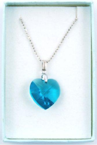 Swarovski Elements Crystal Heart Pendant 18