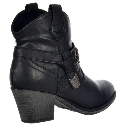 Dog Rocket Stiefel Satire Schwarz Damen Hvndwq041
