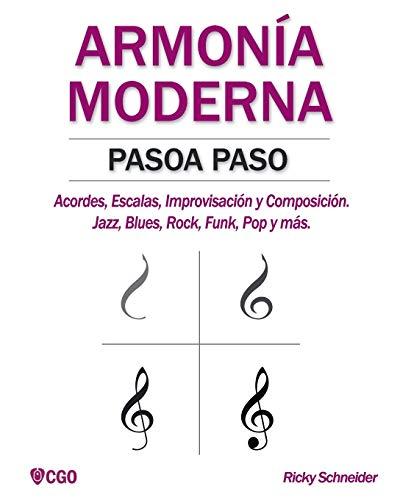 Libro : Armonia Moderna Paso A Paso: Acordes, Escalas, Im...