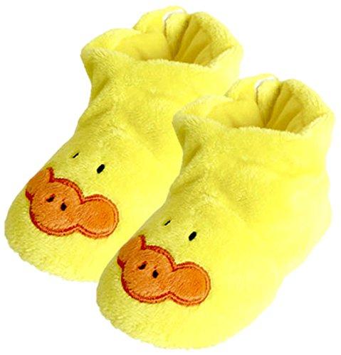 Peluches Cel - Zapatillas pato de peluche, color amarillo (MAE 256pato)