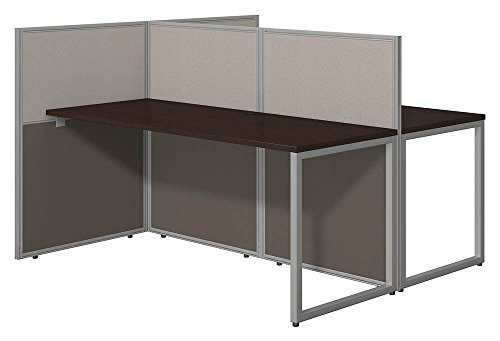 Cheap  Bush Business Furniture Easy Office 60W Two Person Straight Desk Open Office..