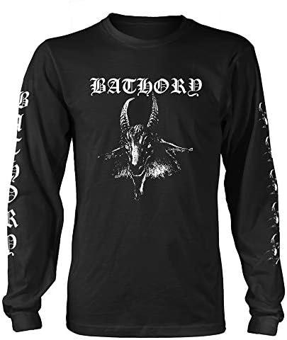 Bathory Longsleeve Goat offiziell Männer T-Shirt Herren