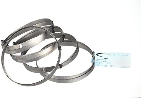 NG 160 Berg /& Schmid TBS 150 fuerza de metal Juego de 5/metal de sierra de cinta BI metal M 42/Medidas 1735/X 13/X 0,90/mm 8//12/ZpZ por ejemplo para Femi 785/Xl flott Alfra ABS NG 160