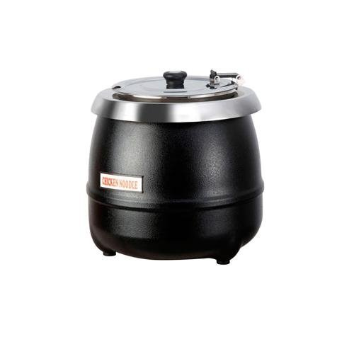 11 Quart Soup Kettle (CCK - Soup/Food Warmer, 11 Quart Complete Kettle - Black - AT51588)