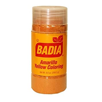 Amazon.com : Badia Yellow Coloring Bottle 1.75 OZ : Food Coloring ...