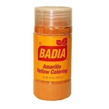 Amazon.com : Badia Yellow Coloring Bottle 1.75 OZ : Food Coloring ...