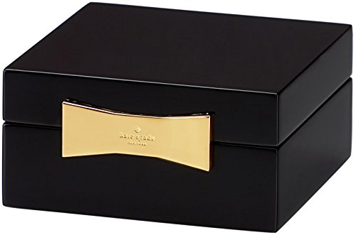 Kate Spade New York Garden Drive Square Jewelry Box, Black
