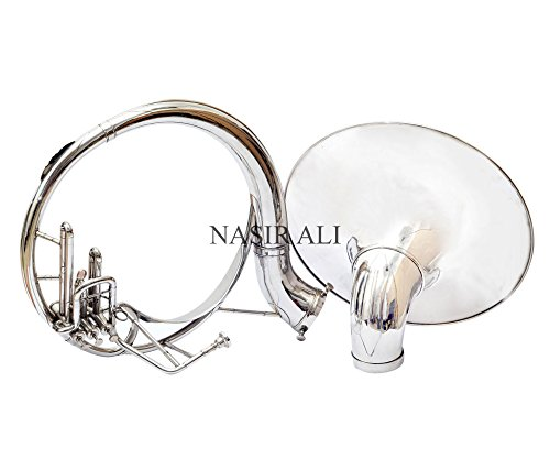 Nasir Ali Sousaphone Bb 21'' Nickel by NASIR ALI