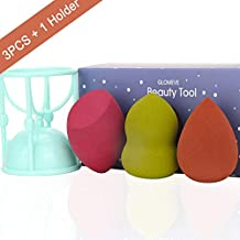3PCS Makeup Sponge set, Flawless Foundation Blending Sponge, beauty blender for Liquid, Creams, and Powders, Multi Color Cosmetic Sponges, 1 Holder Gift