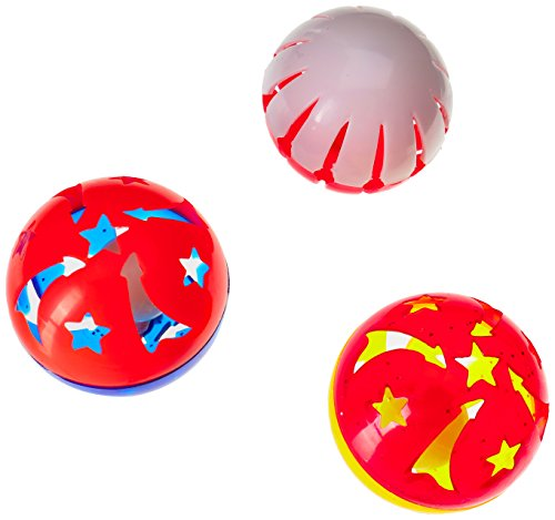 Hartz Bizzy Balls Cat Toys with Bell