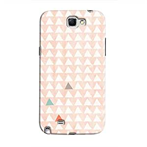 Cover It Up - Odd Hills Pink Galaxy Note 2 N7100 Hard Case