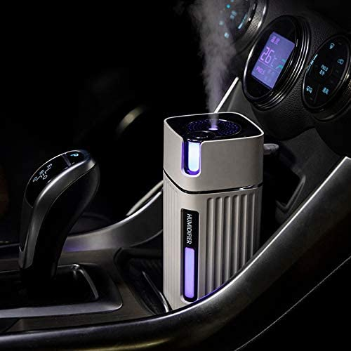 JVSISM Air Humidifier USB Office Home Car Air Can Add Disinfectant