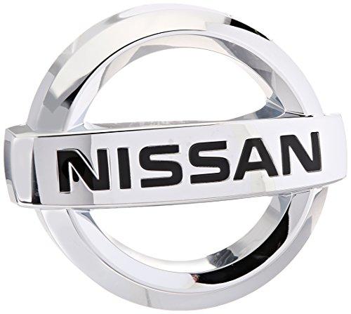 nissan logo. genuine nissan 62890ea000 emblem logo