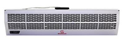 24 Inch Commercial/industrial Air Curtain Hot Storm Series with Electric Heater 220v