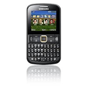 Samsung E2220 Black Keyboard Unlocked GSM QuadBand Bar Cell Phone