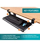 Stand Up Desk Store Compact Clamp-On Retractable